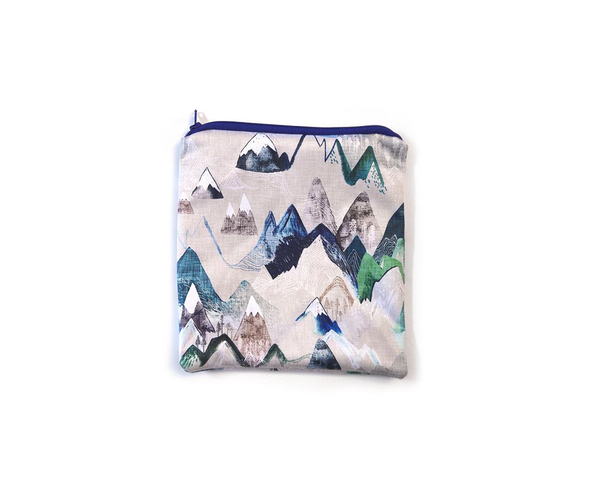 Easy Peasies® Reusable Sandwich Bag   Blue Ridge Mountains