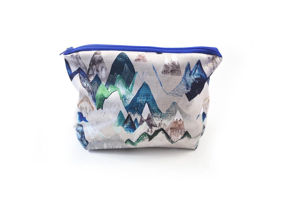 Easy Peasies® Mini Boxed-Bottom Reusable Wet bag | Blue Ridge Mountains