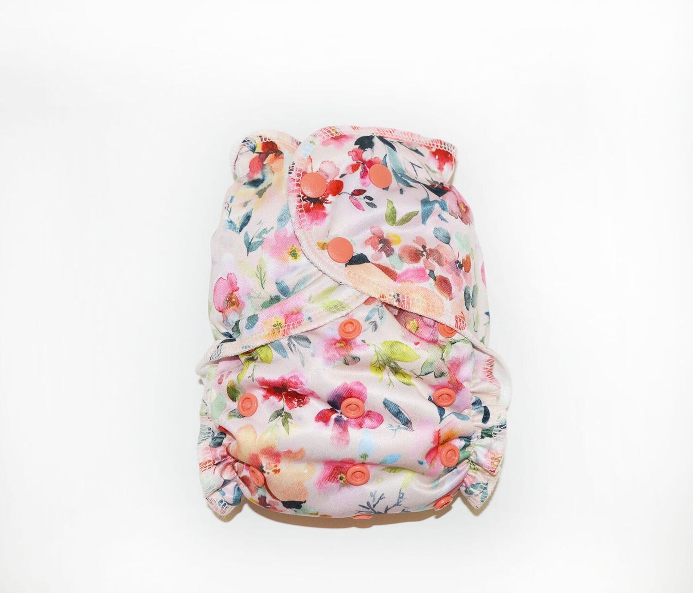 Easy Peasies® One Size Seconds Pocket Cloth Diaper |  Eva