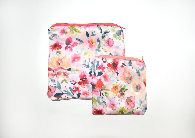 Easy Peasies® Reusable Sandwich & Snack Bag Set | Eva