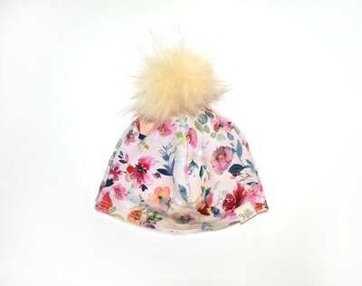 Little Sprout™ Lined Pom-Pom Beanie Hat | Eva