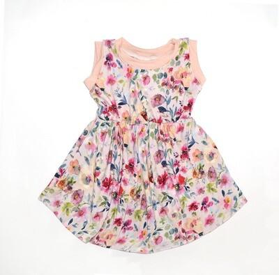 Little Sprout™ Sleeveless Twirl Dress | Eva