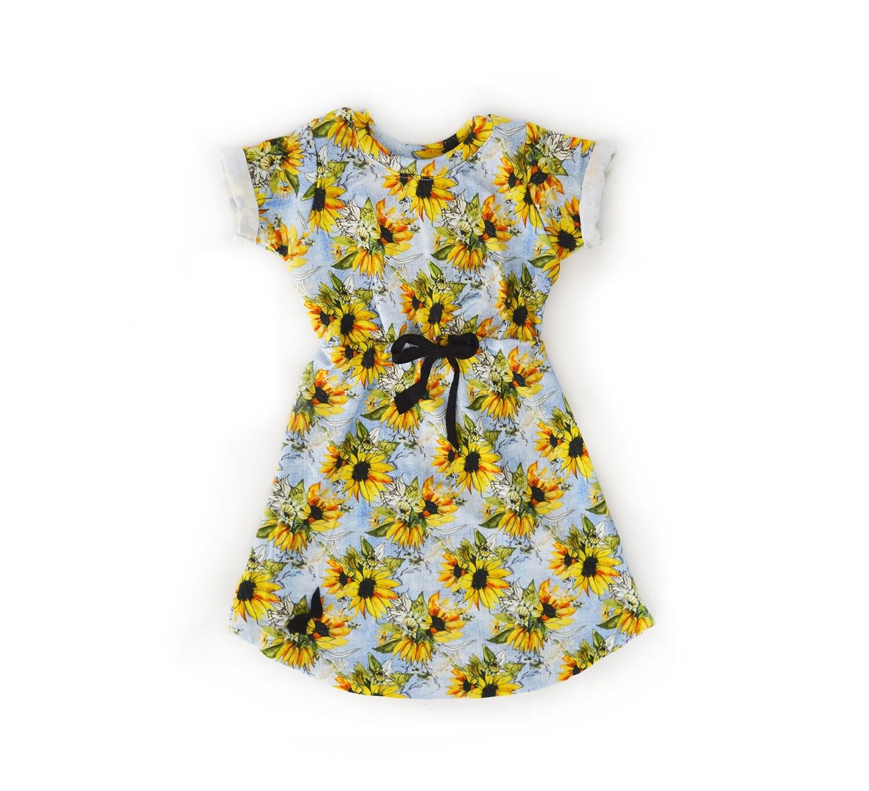 Little Sprout™ Bamboo Dress | Sunflower Denim