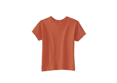 Little Sprout™ Bamboo Baby/Kids T-Shirt | Rust