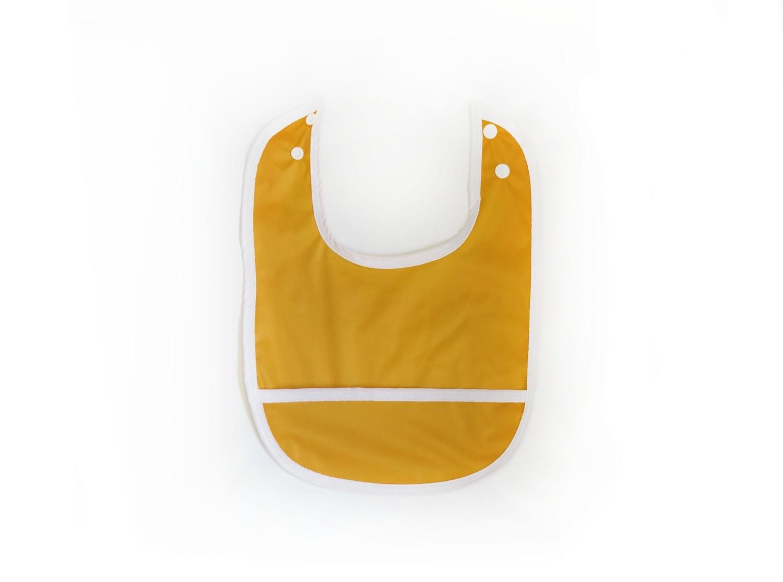 Easy Peasies® Stay Clean Pocket Bib | Golden
