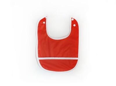 Easy Peasies® Stay Clean Pocket Bib | Maple
