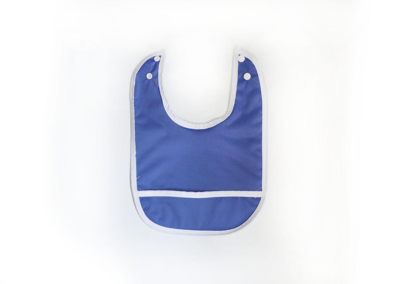 Easy Peasies® Stay Clean Pocket Bib   Periwinkle