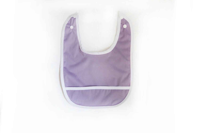 Easy Peasies® Stay Clean Pocket Bib | Heather