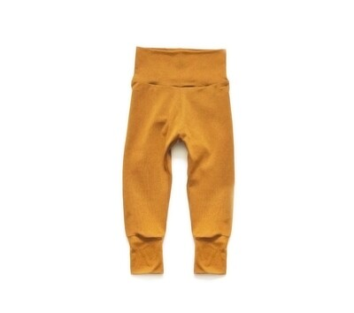 Organic Cotton Little Sprout Pants™ | Grow With Me Leggings | Ochre