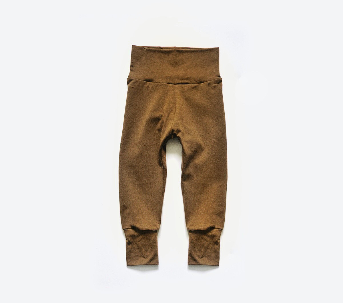 Organic Cotton Little Sprout Pants™ | Grow With Me Leggings | Walnut