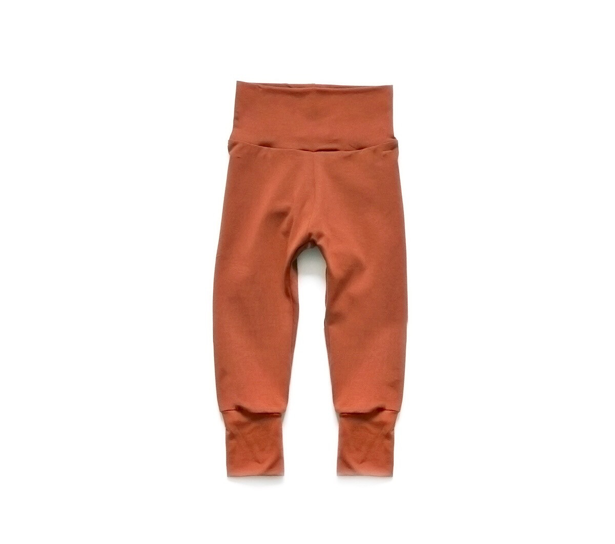 Bamboo Little Sprout Pants™ | Grow With Me Leggings | Terra Cotta