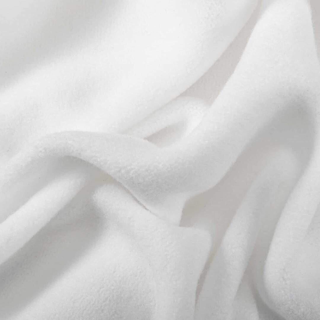 Easy Peasies® Micro-Fleece White Fabric 1/2 m