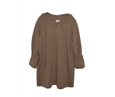 Organic Cotton Little Sprout™ Grow with Me Dress to Tunic   Walnut