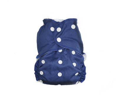 Easy Peasies® One Size Cloth Pocket Diaper | Midnight
