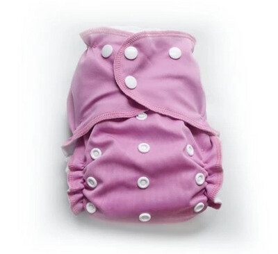 Easy Peasies® One Size Cloth Pocket Diaper | Bubblegum