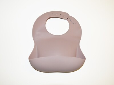 Little Sprout™ Silicon Stay-Clean Pocket Bib | Mist