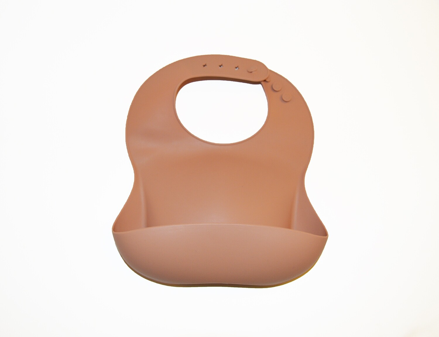 Little Sprout™ Silicon Stay-Clean Pocket Bib   Peach