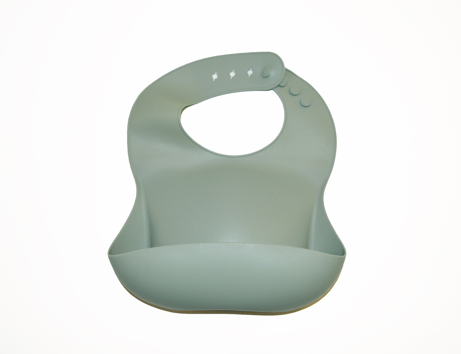 Little Sprout™ Silicon Stay-Clean Pocket Bib   Sage