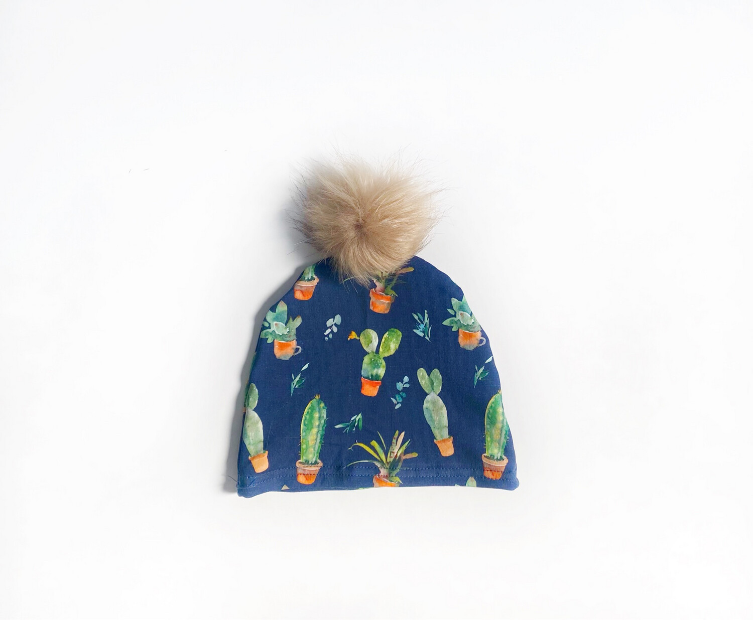 Little Sprout™ Pom-Pom Beanie Hat | Stuck On You