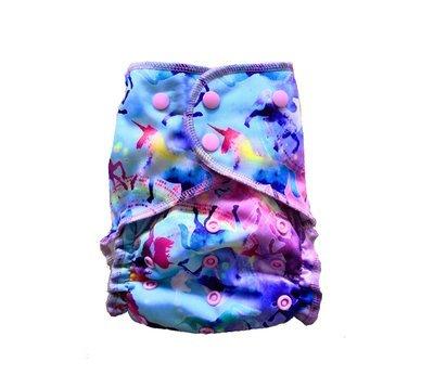 Easy Pocket™ One Size Cloth Diaper - Celeste