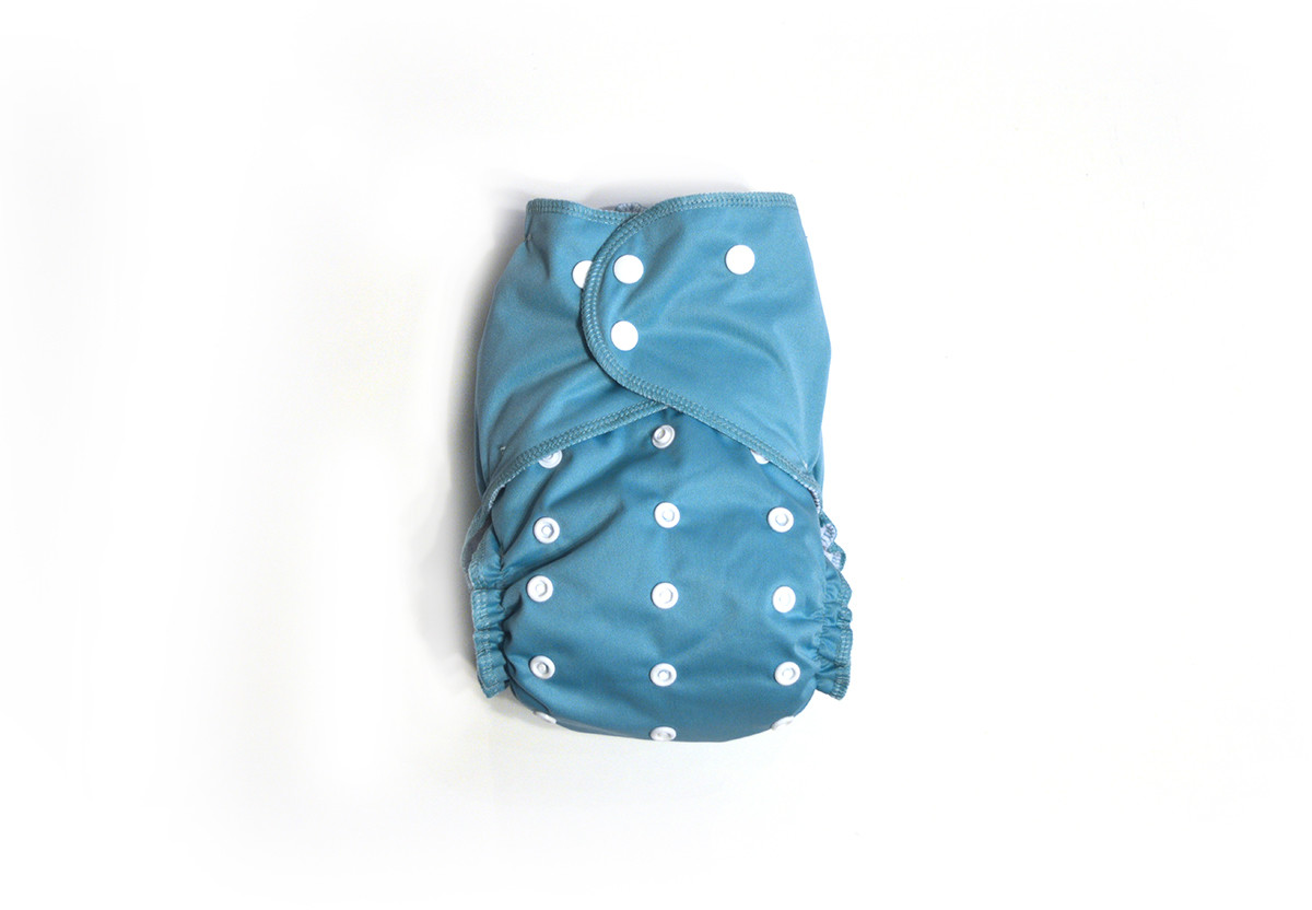 Easy Peasies® One Size Reusable Cloth Diaper Cover - Jewel