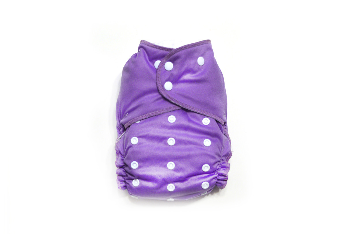 Orchid Ready-Use™ / Dry-Nights™ AIO Cloth Diaper - One Size