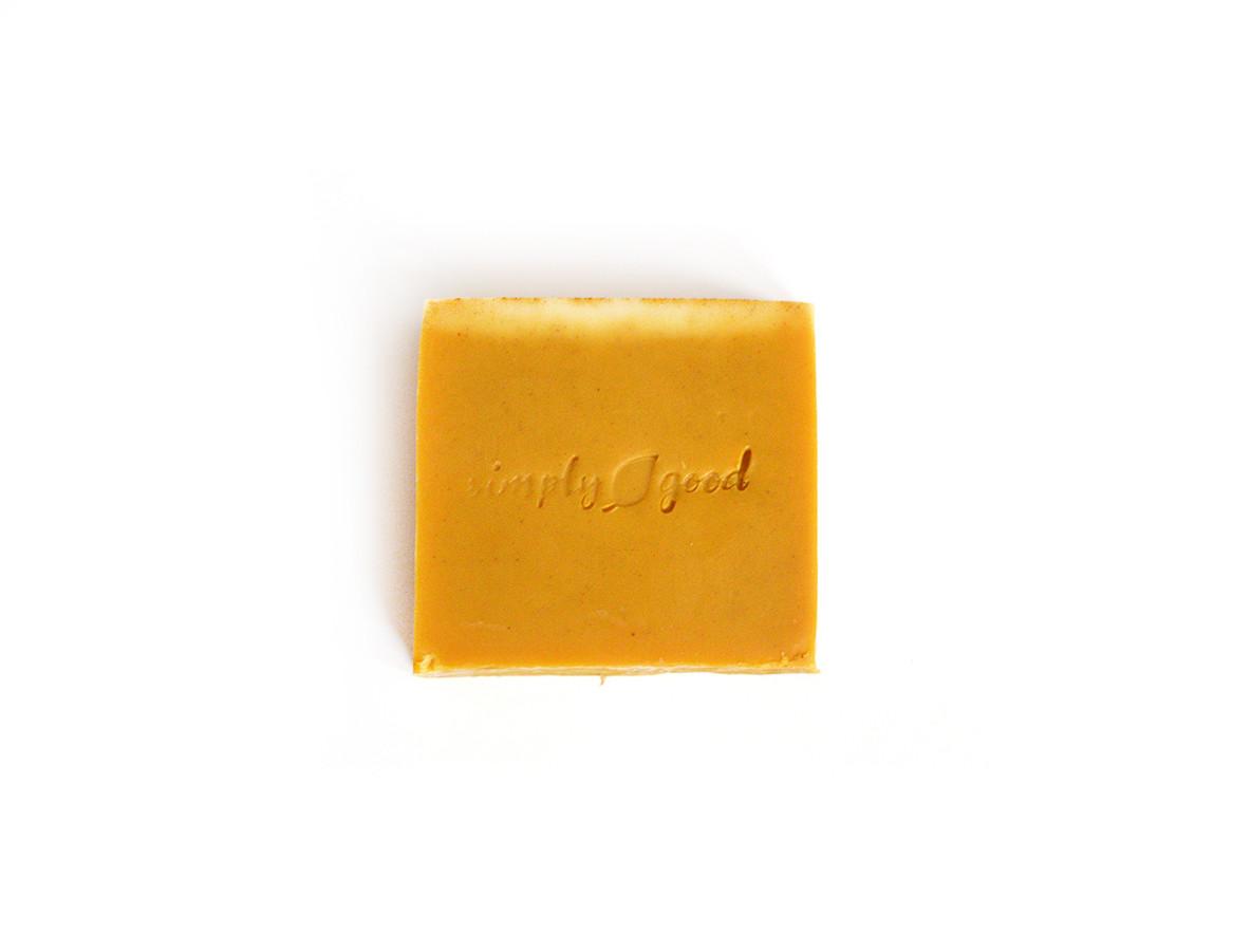 Patchouli Spice Simply Good™ Triple Butter Vegan Soap Bar