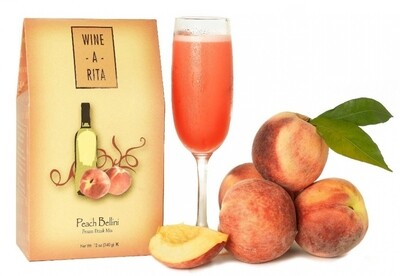 Wine A Rita | Peach Bellini | Frozen Drink Mix