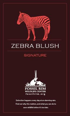 Zebra Blush - (Raspberry White Zinfandel)