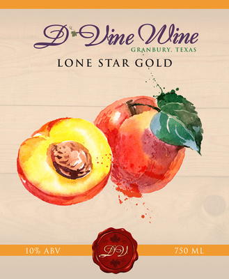 Lone Star Gold - (Peach Chardonnay)