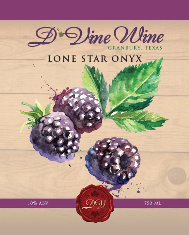 Lone Star Onyx – (Blackberry Merlot)