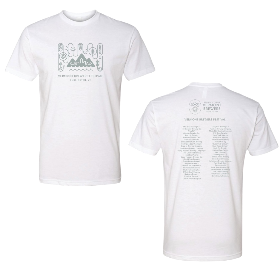 VT Brewers Festival 2019 T-Shirt