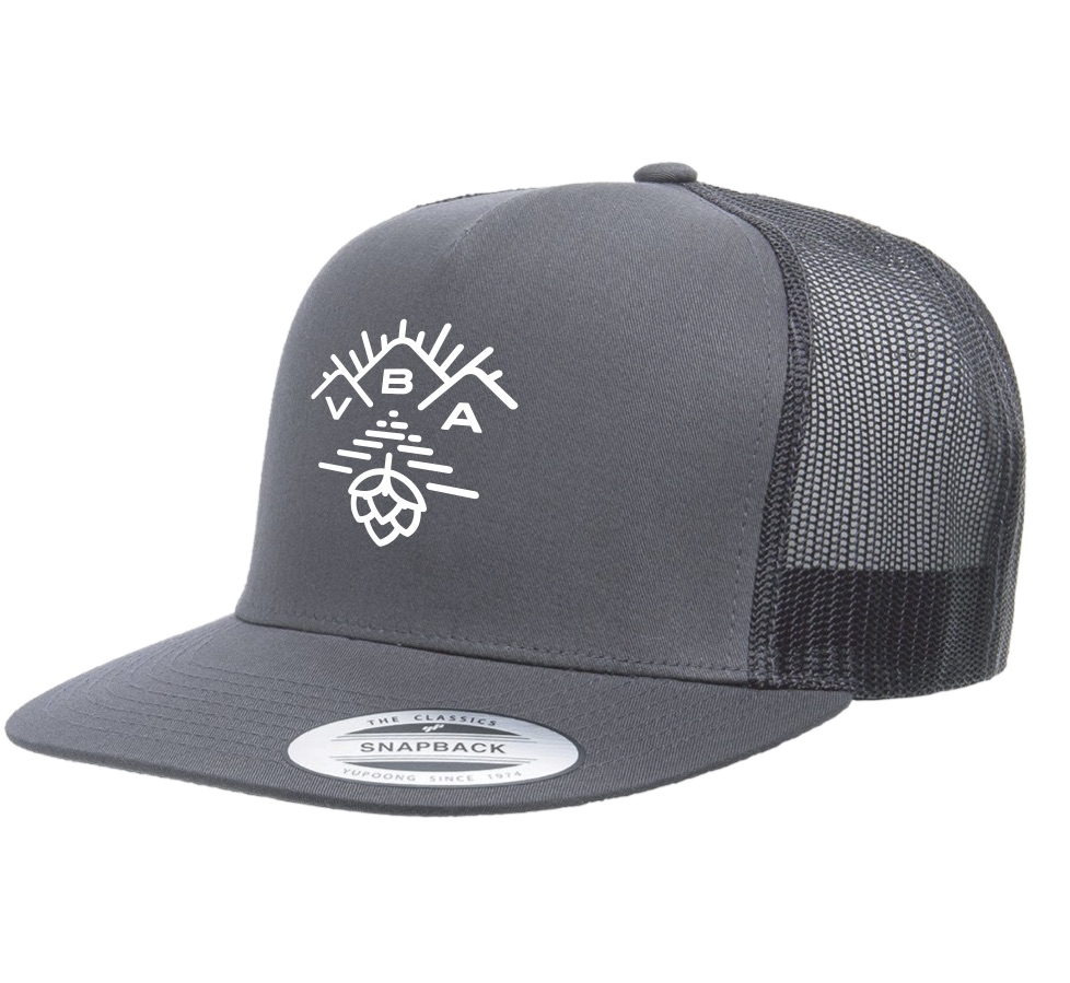 VT Brewers VBA Charcoal Trucker Hat