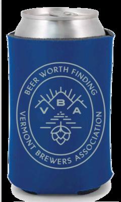 VT Brewers VBA Branded Can Holder Royal Blue