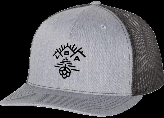 VT Brewers VBA Gray Trucker Hat