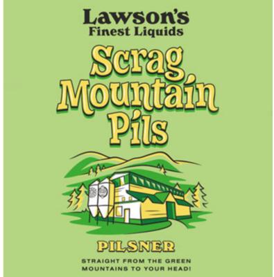 Lawson's Finest Liquids Scrag Mountain Pils  4-packs