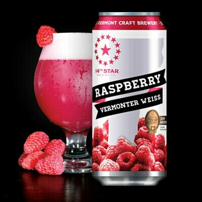 14th Star Brewing Co. Raspberry Vermonter Weiss 4-Pack