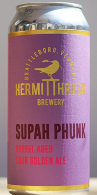 Hermit Thrush Brewery ​Supah Phunk #10 Single 16oz Can