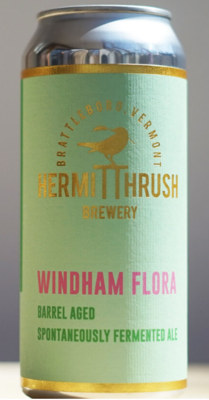 Hermit Thrush Brewery Windham Flora Coolship Spontaneous Ale Single 16 oz can