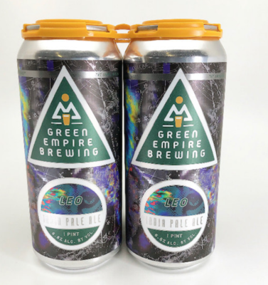 Green Empire Brewing Leo 4-Pack