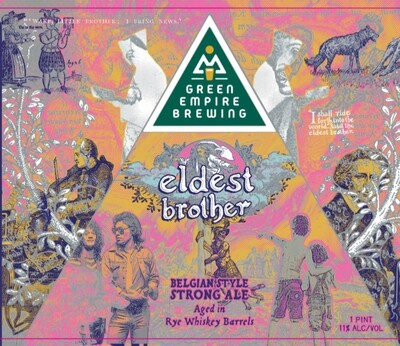Green Empire Brewing Eldest Brother Case