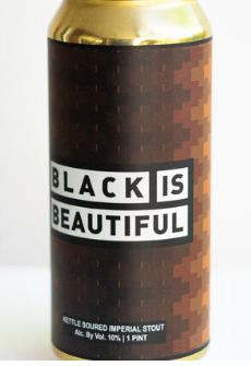 Hermit Thrush Brewery Black is Beautiful 4-Pack