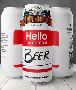 Mill River Brewing Hello My Name is Beer 4-Pack