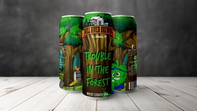 Mill River Brewing Trouble in the Forest  4-Pack