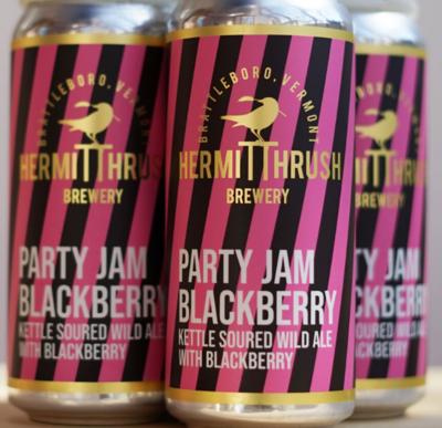 Hermit Thrush Brewery Party Jam Blackberry 4-Pack