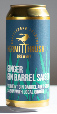 Hermit Thrush Brewery Ginger Gin Barrel Saison 4-Pack