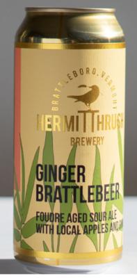 Hermit Thrush Brewery Ginger Brattlebeer 4-Pack
