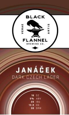 Black Flannel Brewing Co. Janáček - Dark Czech Lager Single 16oz Can