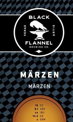 Black Flannel Brewing Co. Marzen Single 16oz Can