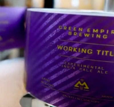 Green Empire Brewing Working Title 12 4-Pack